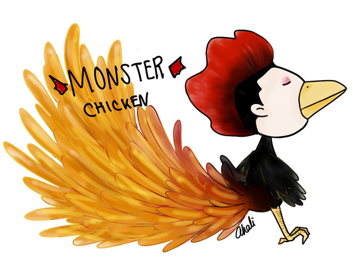 afternoondlite:  alienhyung:  akaakari:  MONSTER。。。TURKEY  most badass chicken there ever was  Boom Chicken Chicken   ^^^ Died.
