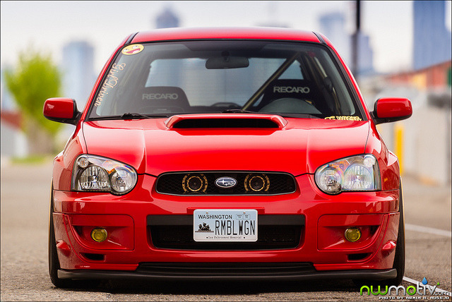 akeikas:  Katie's 2004 WRX by arminausejo on Flickr.