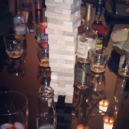 #Jenga #Corona #Hennessy #nobelasco #yolo (Taken with instagram)