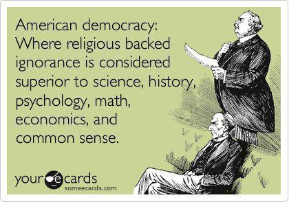 religiousragings:  Ignorance is superior…sounds pretty Orwellian to me.