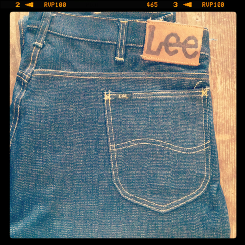 The original cowboy jeans 1950's Lee's