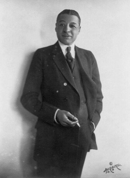 "Egbert Austin ""Bert"" Williams (November 12, 1874 – March 4, 1922) was one of the preeminent entertainers of the Vaudeville era and one of the most popular comedians for all audiences of his time. He was best known for his blackface performances.  Despite this, he became the first black American to take a lead role on the Broadway stage, and did much to push back racial barriers during his career.  He was by far the best-selling black recording artist before 1920. W.C. Fields called Bert Williams ""the funniest man I ever saw and the saddest."""