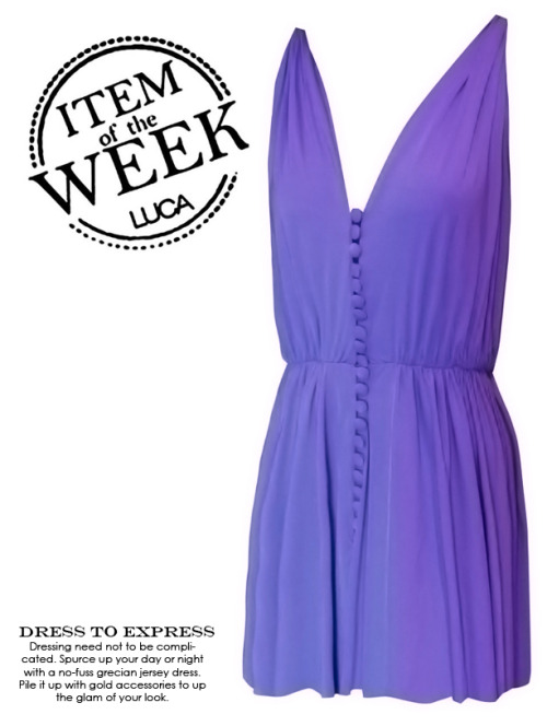 ITEM OF THE WEEK: BRENDA DRESS (P2,400) Now available at www.shopluca.com