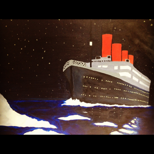 My painting of the Titanic :)