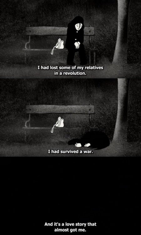 femalemoviecharacters:Persepolis, my favorite film