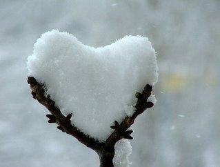 Quando uma pessoa não sabe o que fazer com o frio na barriga e decide esfriar também o coração.