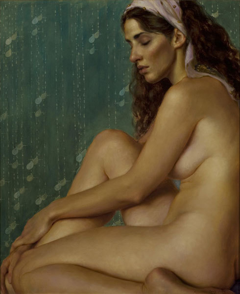 erosart:  Kamille Corry 1966 | American Figurative painter