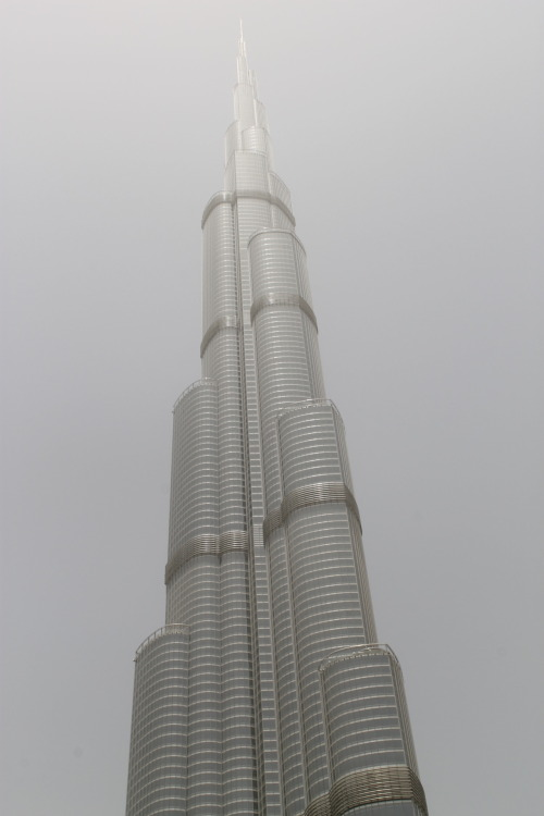 Burj Khalifa, Dubai.  Burj Khalifa, known as Burj Dubai prior to its inauguration, is a skyscraper in Dubai, United Arab Emirates, and is the tallest man-made structure in the world, at 829.84 m (2,723 ft).