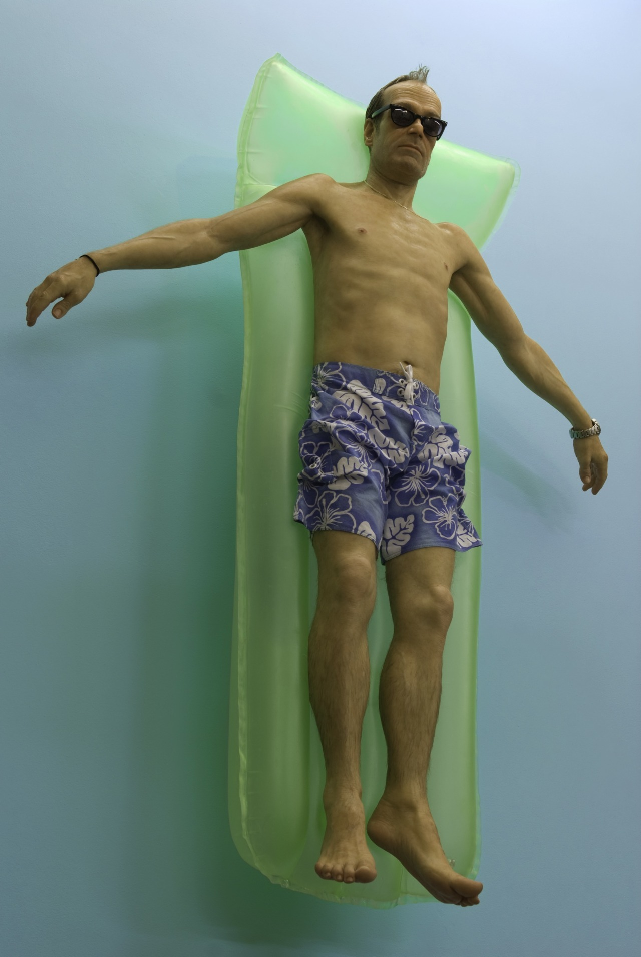 Heat wave in the northeast… Ron Mueck, Drift, 2009, Mixed media