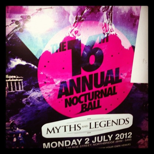 So excited! Night before my birthday :) (Taken with instagram)