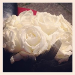 My beautiful wedding bouquet - I couldn't of been more honoured to be the chief bridesmaid!