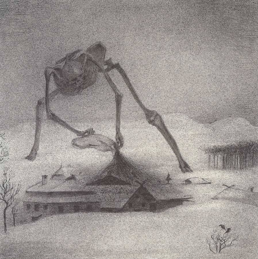 Alfred Kubin - Epidemic, 1900-01                           Drawings