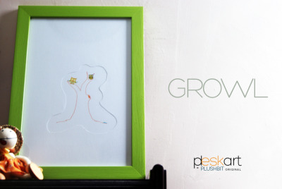 Another side of our latest PLESKART Series collection! GROWL!!