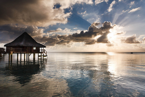 yousaywah:  Rangiroa Sunset by Roger Uceda on Flickr.