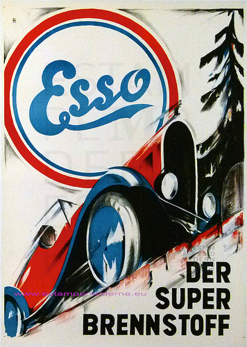 typeverything:  Typeverything.com - Esso logo. (via Expresh Letters)