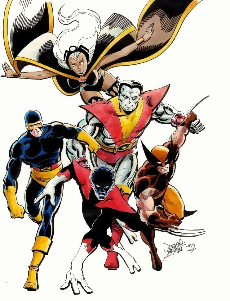 thefandomzone:  THE X-MEN by John Byrne