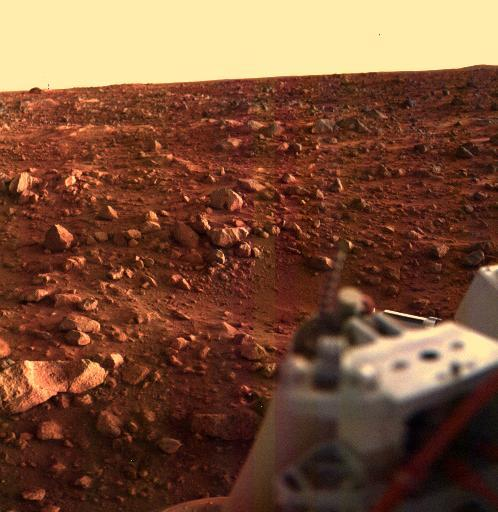 atelophobiclife:  Mars, from Viking 1. NASA