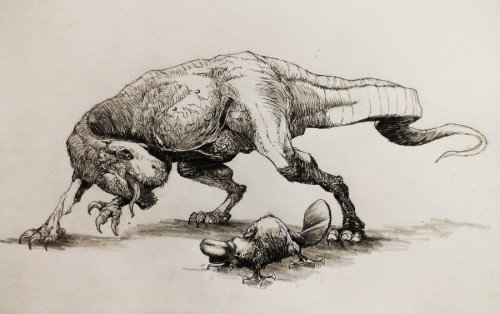 paleoillustration:  This may be speculative.