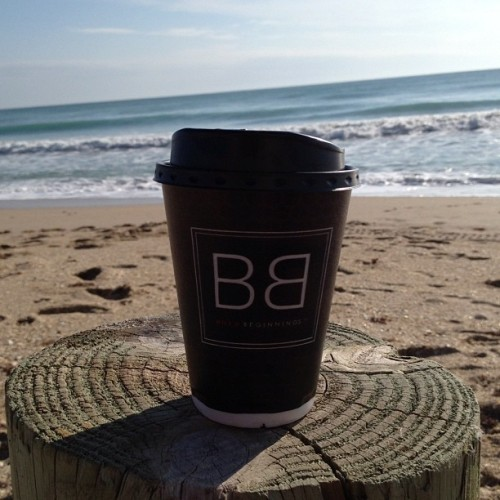 Coffee on the beach… Glorious way to start the day! #jensenbeach #hutchinsonisland #courtyard #fl #beach  (Taken with Instagram at Courtyard Marriott - Hutchinson Island)