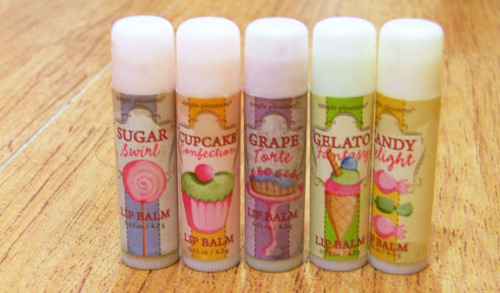 Lip Balm, Cupcake themed  Ugh <3 ____ <3