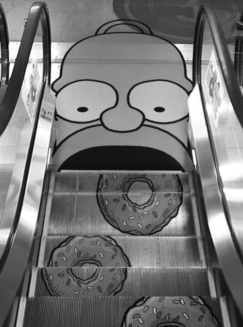 johngotty:  Homer Simpson x Donuts