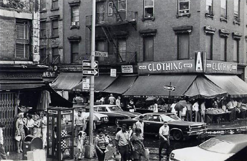 3sixteen-nyc:  Our block, 1974.
