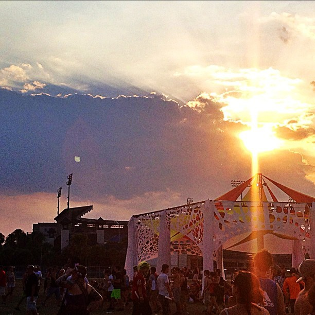 keepcalmandturnupdabass:  Sunset Music Festival. (Taken with Instagram at Sunset Music Festival)