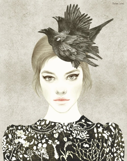 madamelolina:  Crows Hat ⓒ Madame Lolina