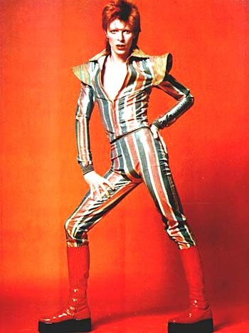 David Bowie is color of life.  photo via deathatthemall