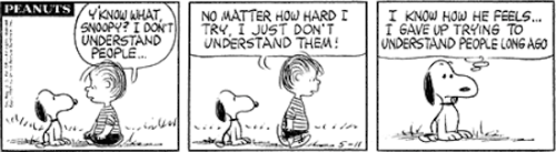 3eanuts:  May 11, 1963 — see The Complete Peanuts 1963-1966