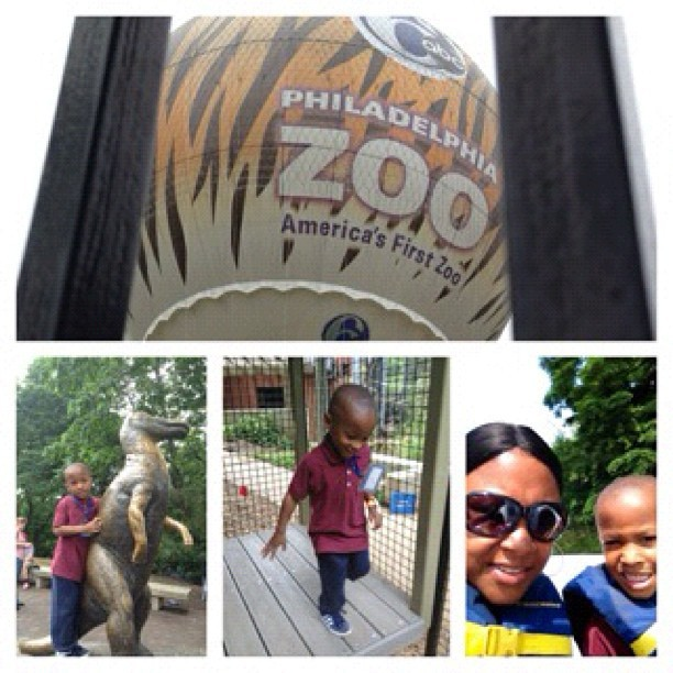 brownlee612:  Class of 2013 Trip to the Zoo: Leaving Pre-k for the (big school) that's what he calls it…🐯🐸🐷🐻🐨🐘🐫🐤🐟🐍🐒🐵 (Taken with instagram)  Field trip