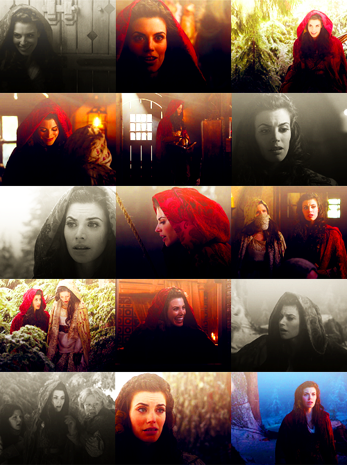 ouat fairytale characters ⟶ red riding hood