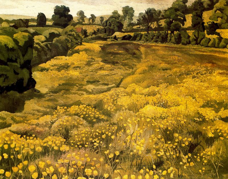 wasbella102:  Stanley Spencer: Bellrope Meadow