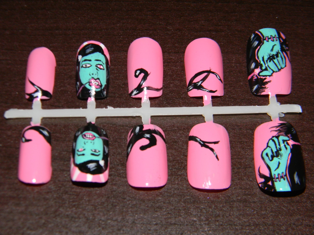 gaslight anthem nails now available on etsy!