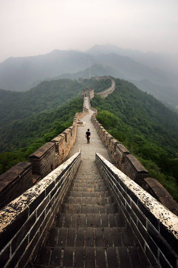 one day before i die, i will walk along the entire wall. i will scale the fallen parts with my bare hands and feet, and i will saunter on till the end.