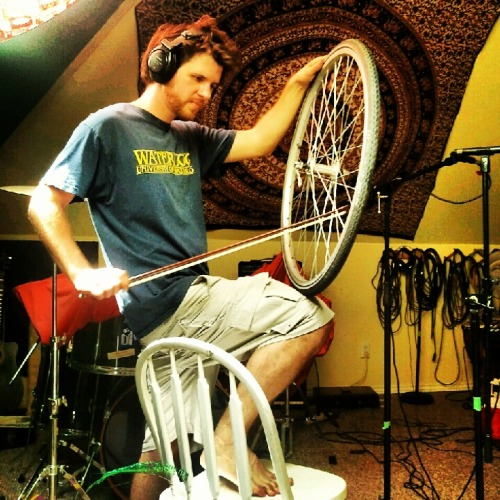 blindacrobat:  Spark Society's Byron Harrison, making wheely scary sounds.