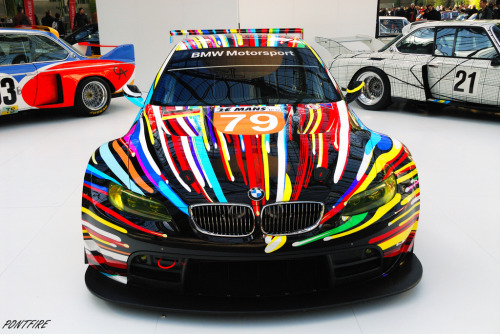 carpr0n:  I can see the universe Starring: BMW M3-GT2 (by pontfire)