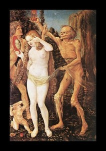 Three Ages of the Woman and Death by Hans Baldung