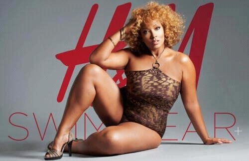 Large & In Charge! H&M's new swimwear ad campaign. Fresh!