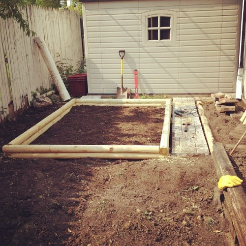 Here is the progress that I've made, may have to just plant some veggies and wait to plant grains and hops. It's a little late in the season. 95 degrees today and sunny, can't wait for the Sierra Nevada Torpedo I have waiting in the refrigerator for after this hot day ahead of me.
