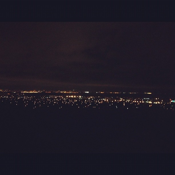 Top of the world, Fremont. (使用instagram拍摄)