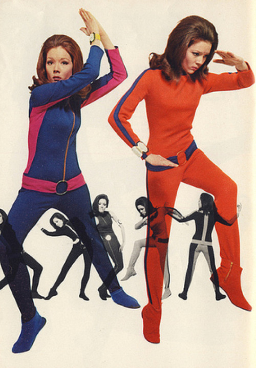 theswingingsixties:  Diana Rigg as Emma Peel in 'The Avengers'.
