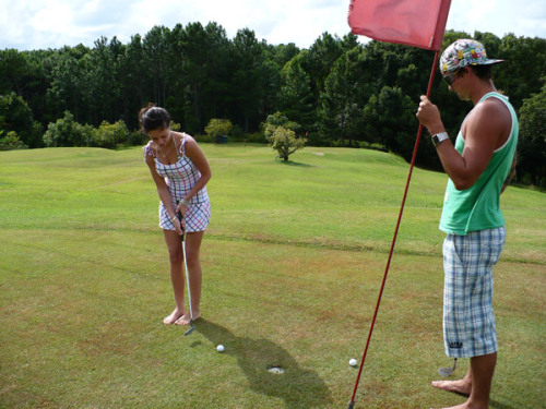 #8 - teach her how to play golf