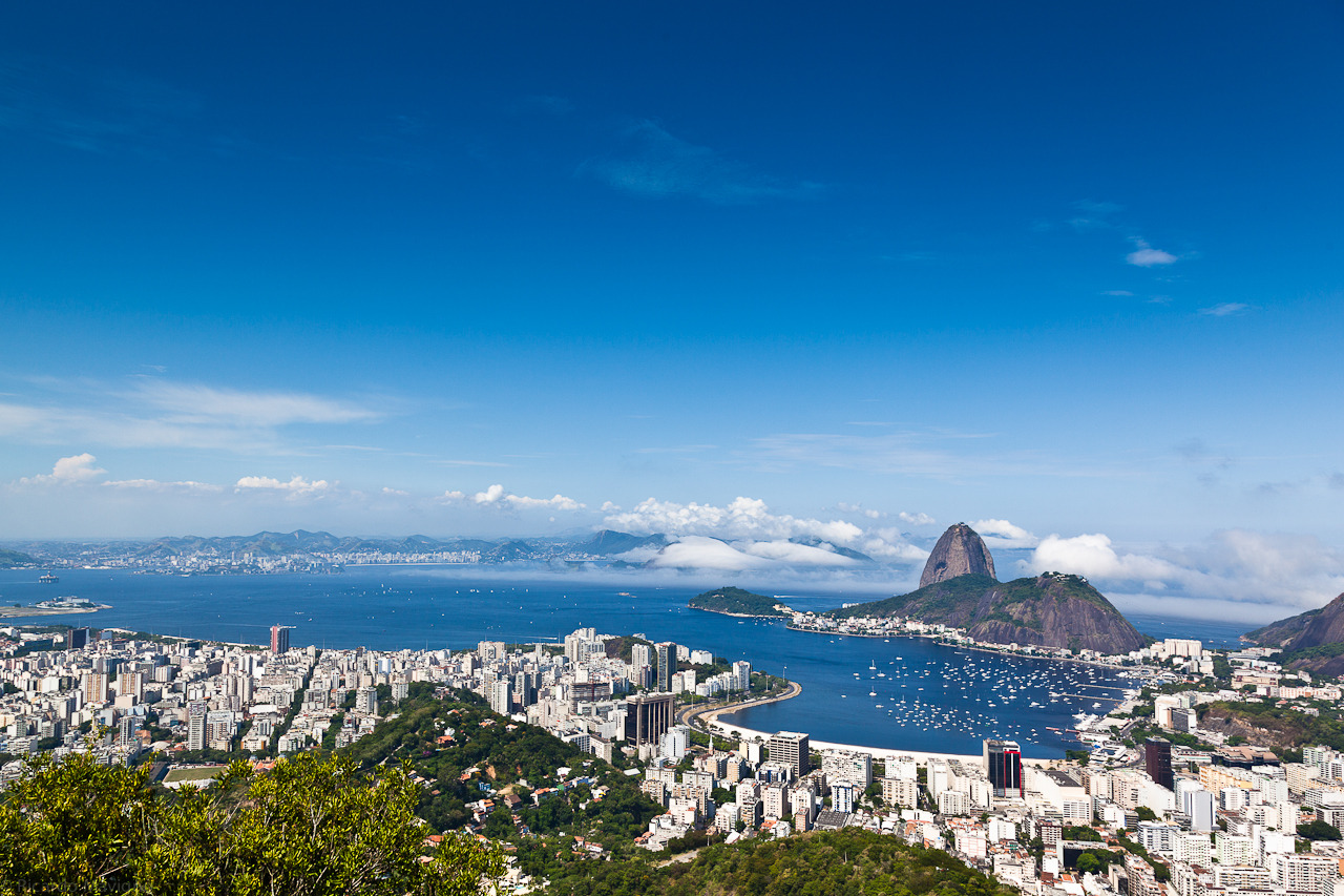 Rio - Botafogo and Guanabara Bay with Sugar Loaf - assorted 12  by Ricardo Mavigno