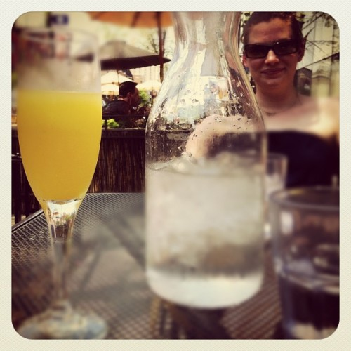 Mimosa time (Taken with Instagram at The Boundary)