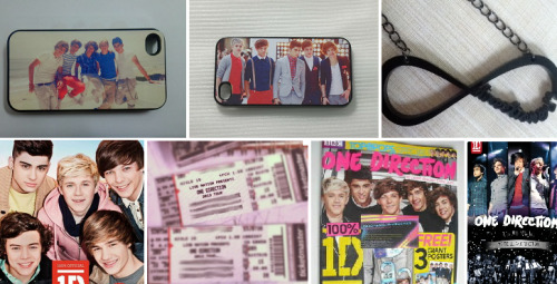 onedirectionmakesmehappyalways:  Giveaway! I just want to thank all of my fellow directioners! Includes: 1 Iphone 4 Case with the boys on the beach 1 Iphone 4 Case with the boys performing 1 Directioner necklace 1 Dare to Dream book 1 Up All Night: The Live Tour DVD 1 One Direction Magazine 2 Tickets to one of their 2013 Shows! Rules: Must be following me ( I follow everyone back ) Reblog as many times as you like Rebloging multiple times increases your chances Message me to increase your chances (Don't be afraid to talk to me. I like making friend here, and I promise you I'm nice. I'm not intimidating) Details: I will choose the winners soon. The location of the concert will be announced when the winners are! *Note: these tickets shown above are not the actual tickets being given away, so don't try to read what city they are for