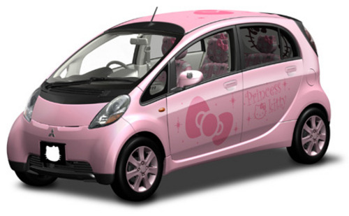 Top Ten Hello Kitty Products Ever: Hello Kitty Mitsubishi