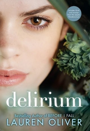 "Delirium by Lauren Oliver My Rating: 5/5 cups of coffee My Review: ""Love will turn the whole world into something greater than itself"" I got hooked into this book from the very beginning because the way it talks about love and the dangers about it. I like it. This is a well written book. I won't be a spoiler in this review. I want you to read it yourself and I promise you, you'll fell inlove with the book just like me. Although it's a cliff-hanger at the end but the second book is out so you don't need to wait what happens next."