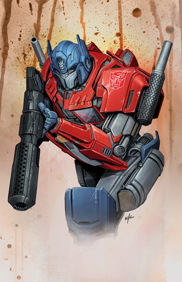 xombiedirge:  Optimus Prime by Ken Christiansen