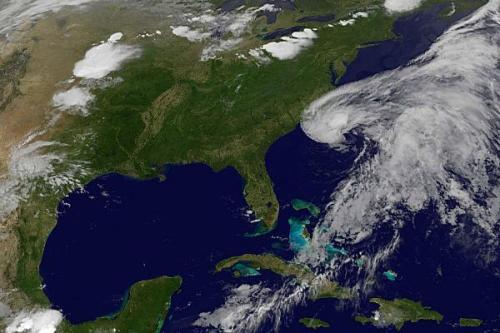 "Beryl bears down: Tropical storm gets early jump on storm season Tropical storm Beryl threatens the East Coast: With sustained winds of up to 60 mph, Beryl is headed west from the Atlantic Ocean on toward the Florida/Georgia area. The storm is expected to pick up strength and make landfall in northeastern Florida on Sunday, go into southeastern Georgia and then spin out of South Carolina and back into the ocean by Tuesday or Wednesday. Are people concerned about this storm? We'll let you be the judge: ""We enjoy the storms. We live here,"" Teri Hood told Central Florida News 13. ""As long as there are cocktails for the weekend, that's it."" source Update: @breakingstorm reports that Beryl is now officially a tropical storm. Follow ShortFormBlog: Tumblr, Twitter, Facebook"